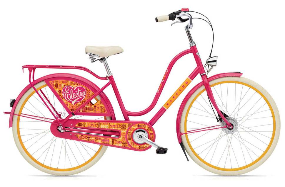 Electra Amsterdam 3i LDS 2017 in Joyride Pink was $1399,95. Sale price now $700!