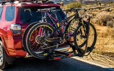 Seize the day! Get your bicycle hitched up up with a Yakima rack